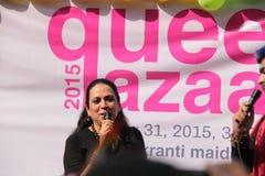 Λεσβιακός και ομοφυλοφιλικός Μάρτιος σε Mumbai Στοκ φωτογραφίες με δικαίωμα ελεύθερης χρήσης