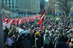 16. το Μάρτιο του 2013 Στοκ Εικόνες