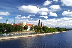 Λετονία Ρήγα Στοκ Εικόνα