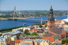 Λετονία Ρήγα Στοκ φωτογραφίες με δικαίωμα ελεύθερης χρήσης