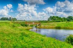 Λετονική άποψη τοπίων χωρών δευτερεύουσα Στοκ φωτογραφία με δικαίωμα ελεύθερης χρήσης