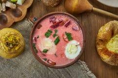 Λετονικό zupa Auksta στοκ εικόνα
