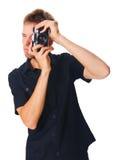 λευκές νεολαίες ατόμων &p Στοκ Φωτογραφίες