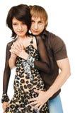 λευκές νεολαίες ζευγ στοκ εικόνα με δικαίωμα ελεύθερης χρήσης