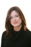 λευκή γυναίκα ανασκόπησ&et Στοκ Εικόνες