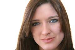 λευκή γυναίκα ανασκόπησ&et Στοκ εικόνα με δικαίωμα ελεύθερης χρήσης