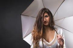 λευκιά μάγισσα Στοκ φωτογραφία με δικαίωμα ελεύθερης χρήσης