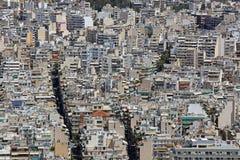 Λευκιά πόλη Αθήνα στοκ φωτογραφίες