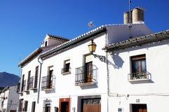 Λευκοί Οίκοι, Antequera, Ισπανία. Στοκ φωτογραφίες με δικαίωμα ελεύθερης χρήσης