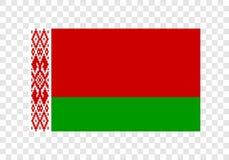 Λευκορωσία - εθνική σημαία απεικόνιση αποθεμάτων
