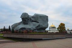 """Λευκορωσία, Brest, στις 24 Οκτωβρίου 2015: Το κύριο μνημείο """"ήρωας του Brest """" στοκ φωτογραφία με δικαίωμα ελεύθερης χρήσης"""