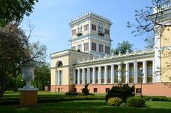 Λευκορωσία, Gomel, παλάτι rumyantsev-Paskevich Στοκ φωτογραφία με δικαίωμα ελεύθερης χρήσης