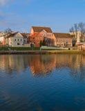 λευκορωσική παλαιά πόλη & στοκ φωτογραφία