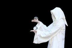 λευκός μάγος Στοκ εικόνες με δικαίωμα ελεύθερης χρήσης