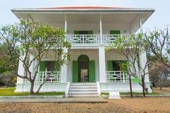 Λευκός Οίκος στο νησί Sichang στοκ φωτογραφία