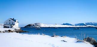 Λευκός Οίκος ψαράδων Στοκ Φωτογραφίες