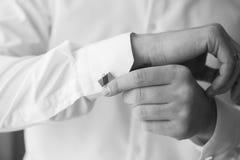 Λευκός που ντύνει επάνω για τη oficial περίπτωση Στοκ εικόνες με δικαίωμα ελεύθερης χρήσης
