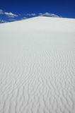 λευκό άμμου αμμόλοφων Στοκ Εικόνες
