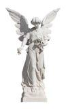 λευκό αγαλμάτων αγγέλο&upsi Στοκ Φωτογραφίες