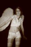 λευκό αγγέλου Στοκ φωτογραφίες με δικαίωμα ελεύθερης χρήσης