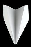 λευκό αεροπλάνων εγγράφου Στοκ Φωτογραφία