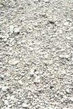 λευκό αμμοχάλικου λεπ&tau Στοκ Εικόνες