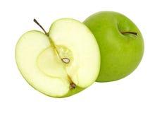 λευκό ανασκόπησης μήλων Στοκ εικόνες με δικαίωμα ελεύθερης χρήσης
