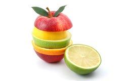 λευκό ανασκόπησης μήλων Στοκ φωτογραφία με δικαίωμα ελεύθερης χρήσης
