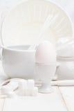 Λευκό από την κουζίνα Στοκ Εικόνες