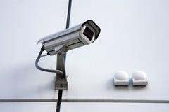 λευκό ασφάλειας εκκέντ&rh Στοκ Εικόνα