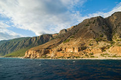 λευκό βουνών της Κρήτης Ελλάδα Στοκ Φωτογραφίες