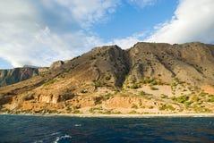 λευκό βουνών της Κρήτης Ελλάδα Στοκ Φωτογραφία