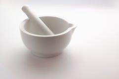 λευκό γουδοχεριών κον&io Στοκ Εικόνες
