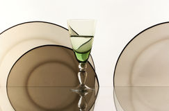 λευκό γυαλιού ανασκόπη&sigm Στοκ φωτογραφίες με δικαίωμα ελεύθερης χρήσης