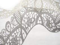 λευκό δαντελλών Στοκ εικόνες με δικαίωμα ελεύθερης χρήσης
