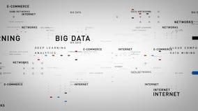 Λευκό Διαδικτύου λέξεων κλειδιών απεικόνιση αποθεμάτων