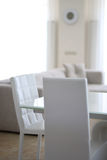 λευκό δωματίων επίπλων Στοκ φωτογραφίες με δικαίωμα ελεύθερης χρήσης