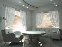 λευκό δωματίων Στοκ εικόνες με δικαίωμα ελεύθερης χρήσης