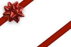 λευκό δώρων ανασκόπησης Στοκ Εικόνα