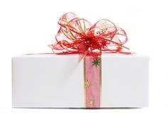 λευκό δώρων Στοκ Φωτογραφία