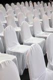 λευκό εδρών Στοκ Φωτογραφία