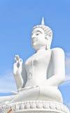 λευκό εικόνας του Βούδα Στοκ φωτογραφία με δικαίωμα ελεύθερης χρήσης