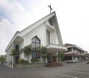 λευκό εκκλησιών στοκ φωτογραφίες