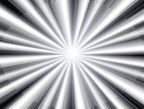 λευκό ελαφριών ακτίνων Στοκ φωτογραφία με δικαίωμα ελεύθερης χρήσης