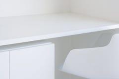 λευκό επίπλων Στοκ φωτογραφία με δικαίωμα ελεύθερης χρήσης