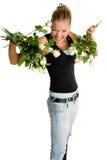 λευκό εφήβων τριαντάφυλ&lambda στοκ εικόνα