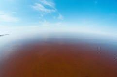 λευκό θάλασσας ακτών Στοκ Φωτογραφία