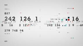 Λευκό διαγραμμάτων απόδοσης αποθεμάτων ελεύθερη απεικόνιση δικαιώματος