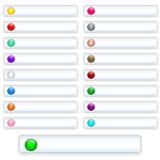 λευκό Ιστού κουμπιών Στοκ φωτογραφία με δικαίωμα ελεύθερης χρήσης