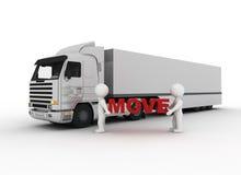 λευκό κίνησης χαρακτήρα Στοκ φωτογραφία με δικαίωμα ελεύθερης χρήσης